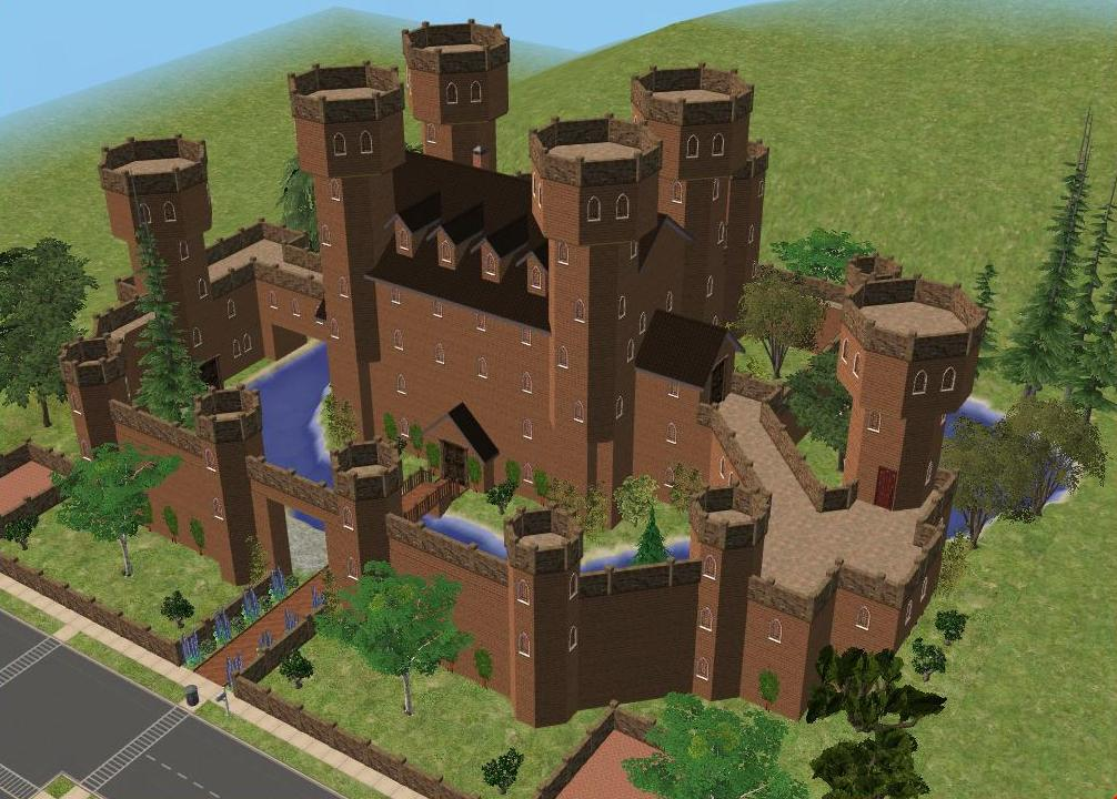 sims 2 japanese fortress - photo #39