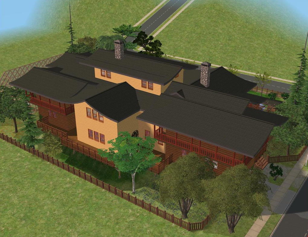 sims 2 japanese fortress - photo #42