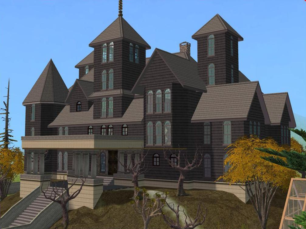 Mod The Sims - 'Don't Go into the Tower' Haunted House