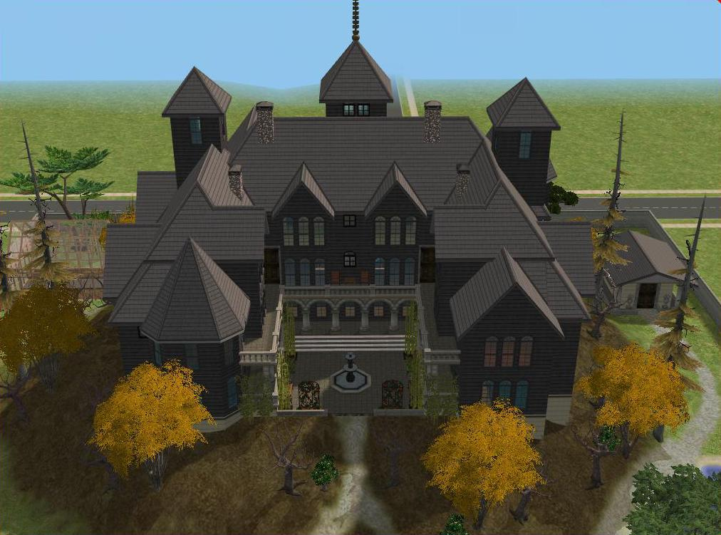 Sims 2 Haunted Castle by RamboRocky