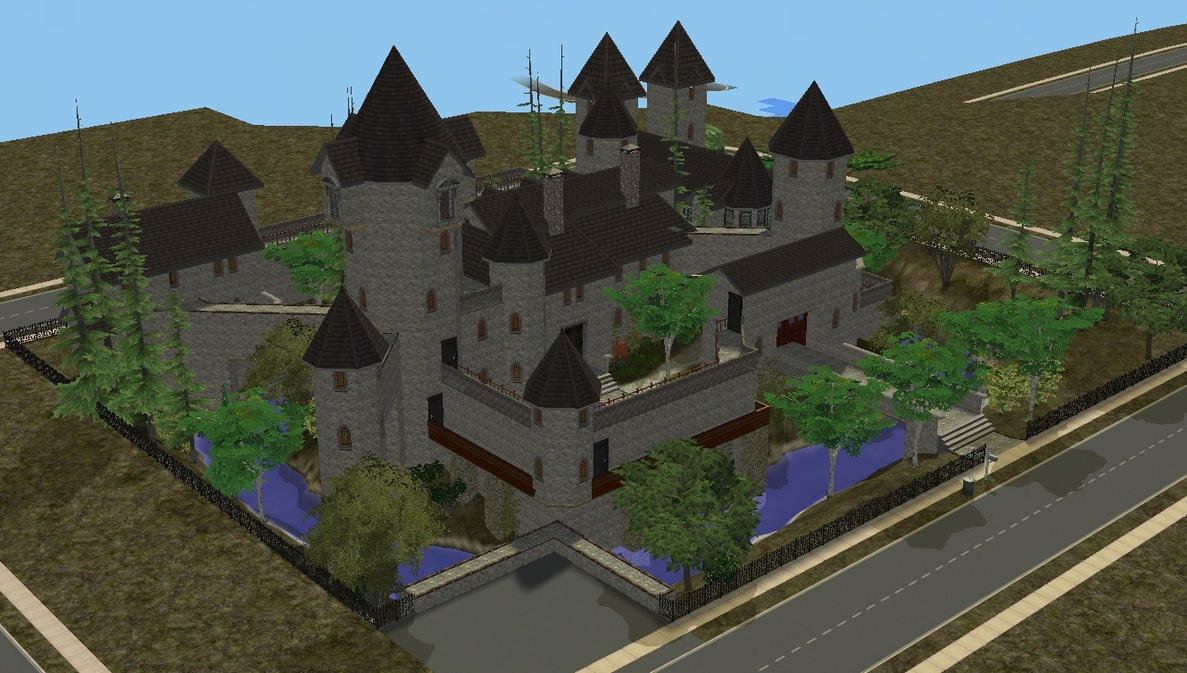 sims 2 japanese fortress - photo #46