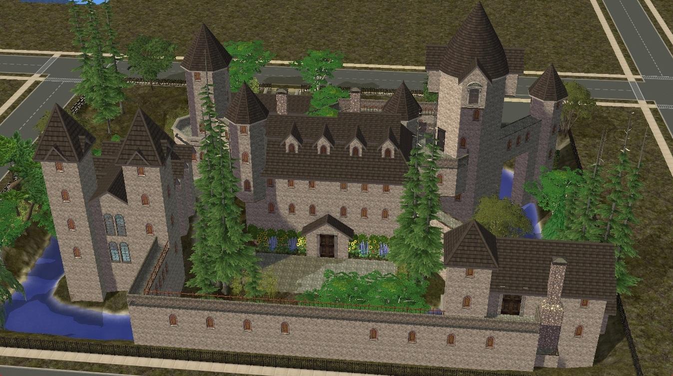 Sims 2 Castle By Ramborocky On Deviantart