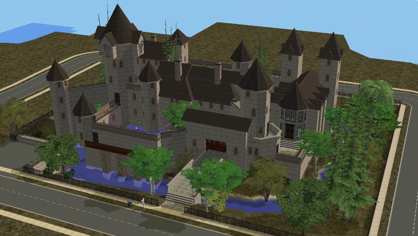 sims 2 japanese fortress - photo #49