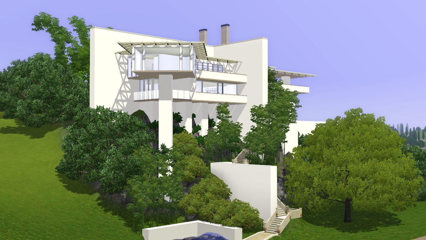 modern house plans for the sims 3 Modern House