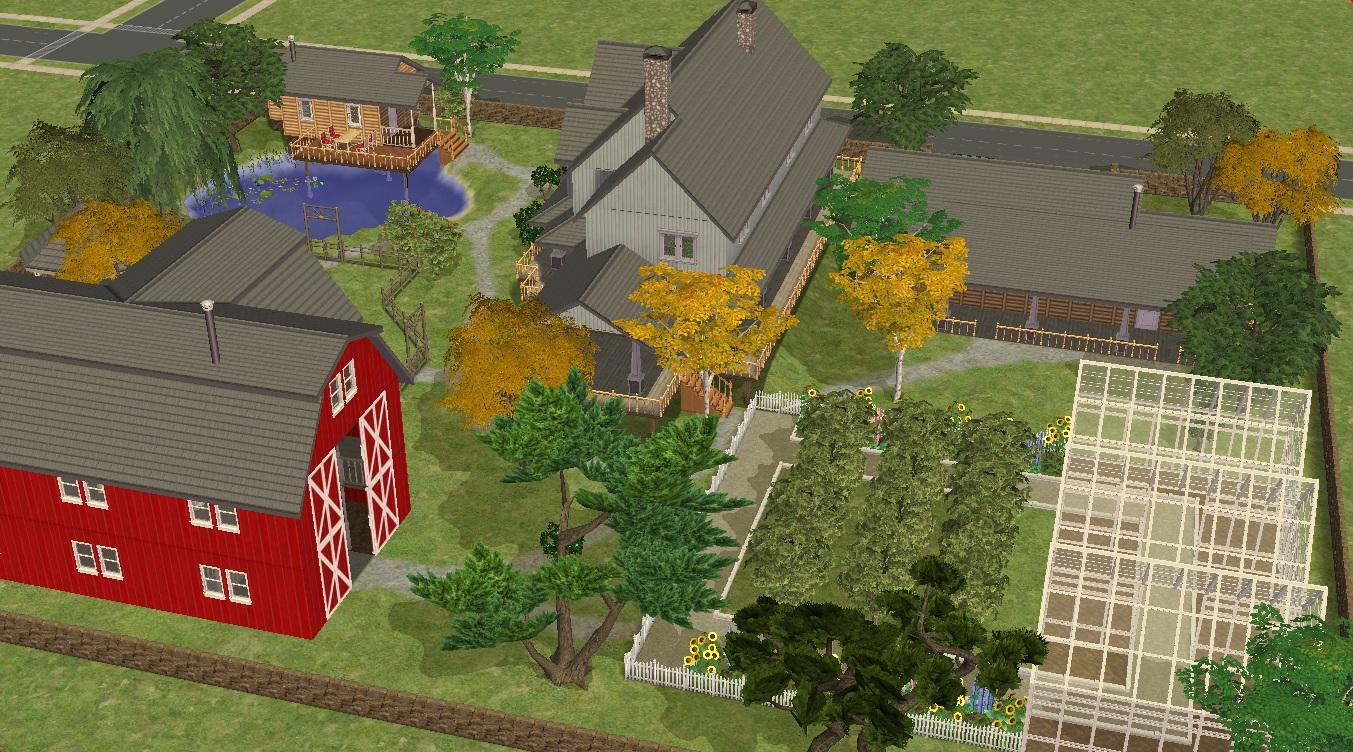 Sims 2 Farm by RamboRocky