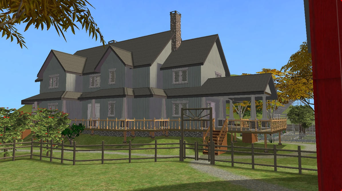 Sims 2 farm by ramborocky on deviantart for Sims 2 mansiones y jardines