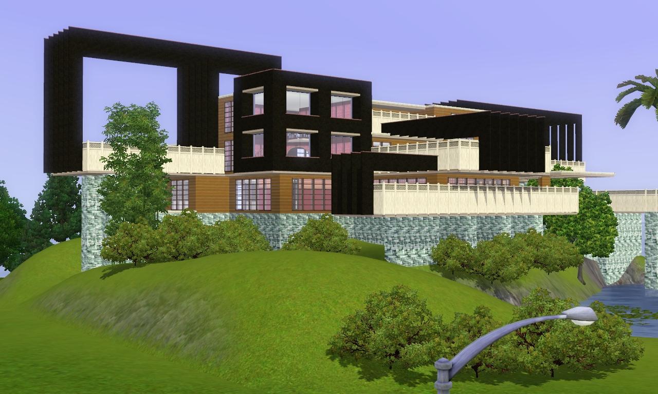 Sims 3 modern house joy studio design gallery best design for Modern house sims 3