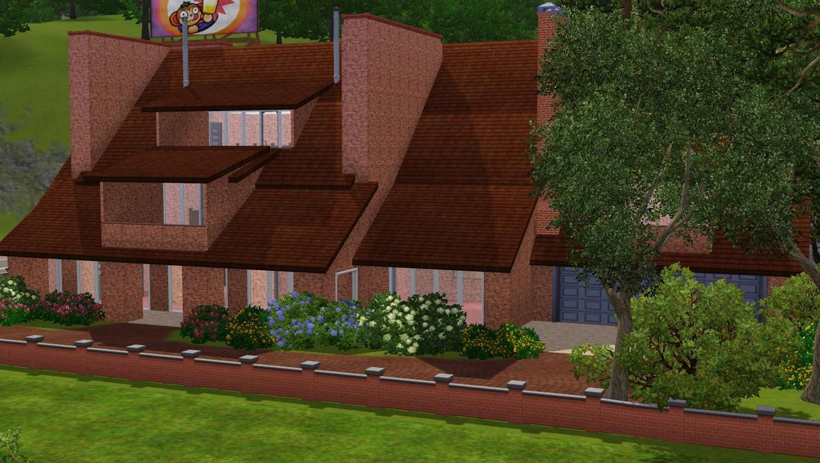 Sims 3 modern family home by ramborocky on deviantart for Modern family house 90210