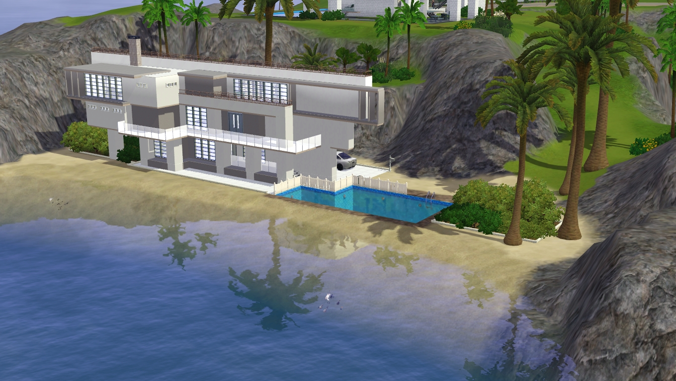 Beach House Designs For Sims 3