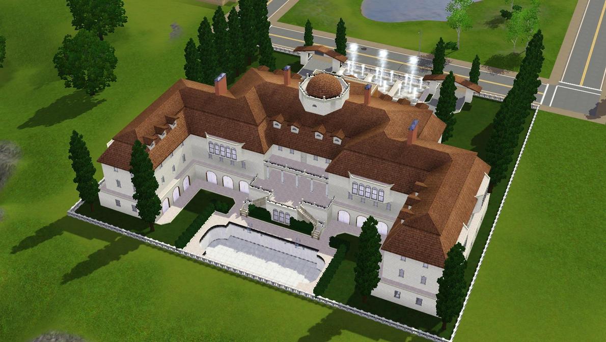 Sims 3 Luxury Mansion By RamboRocky On DeviantArt