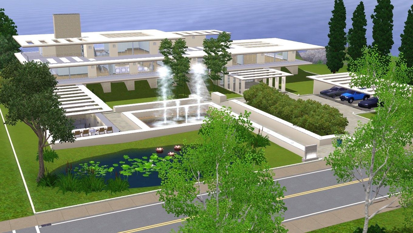 House Plans And Design Architectural Design The Sims 3