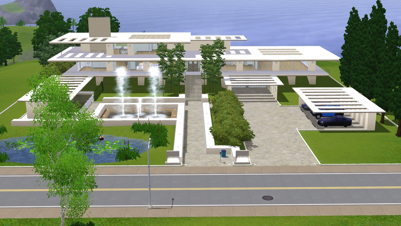 Sims 3 modern dream crib by ramborocky on deviantart Modern dream home design ideas