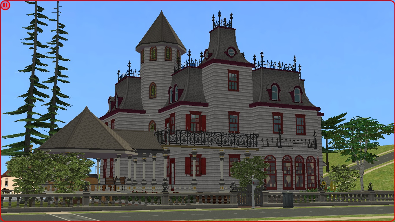 Victorian House Minecraft Sims 2 Victorian Home By