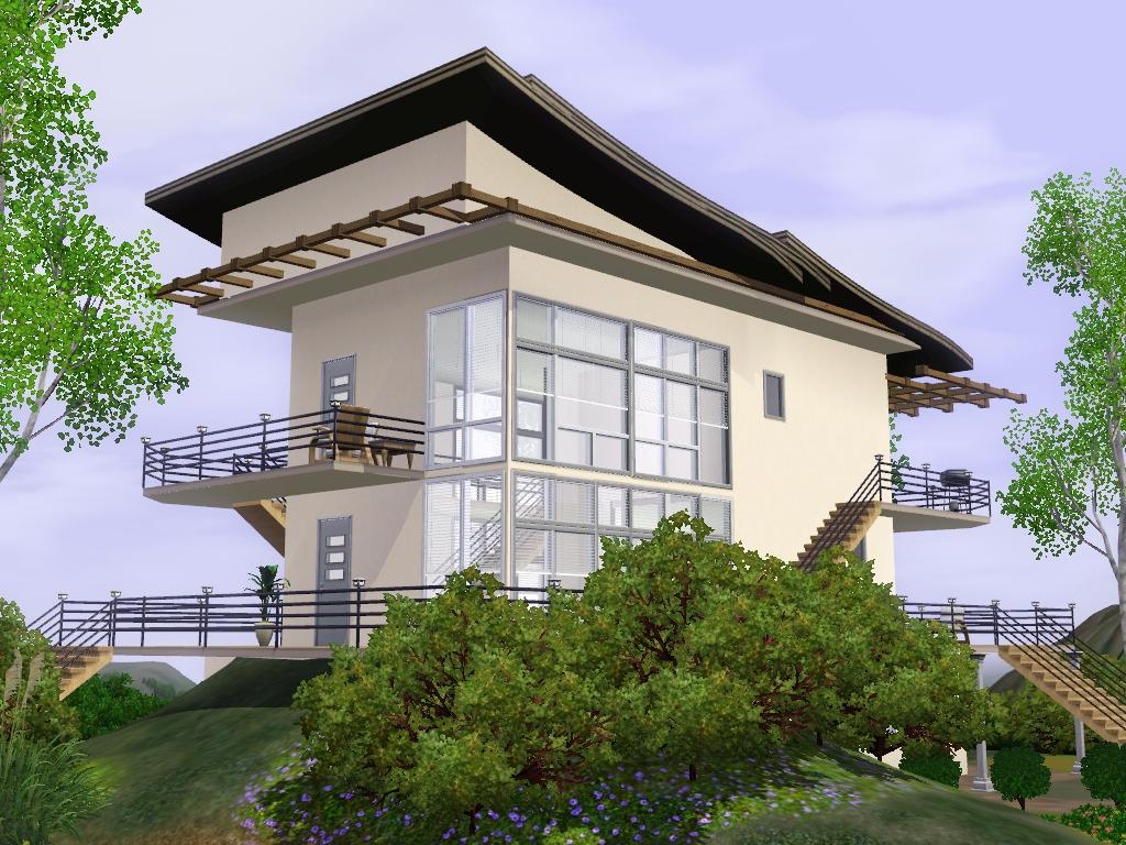 Sims 3 Modern Box House By Ramborocky On Deviantart