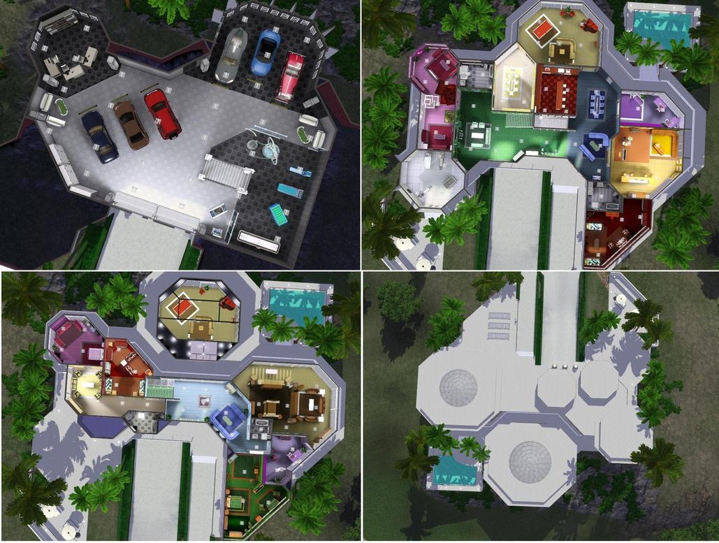 Sims 3 Iron man's house by RamboRocky on DeviantArt Man House Design on vacation design, man sofa, man construction, man landscaping, man cooking, man bedroom, man painting,