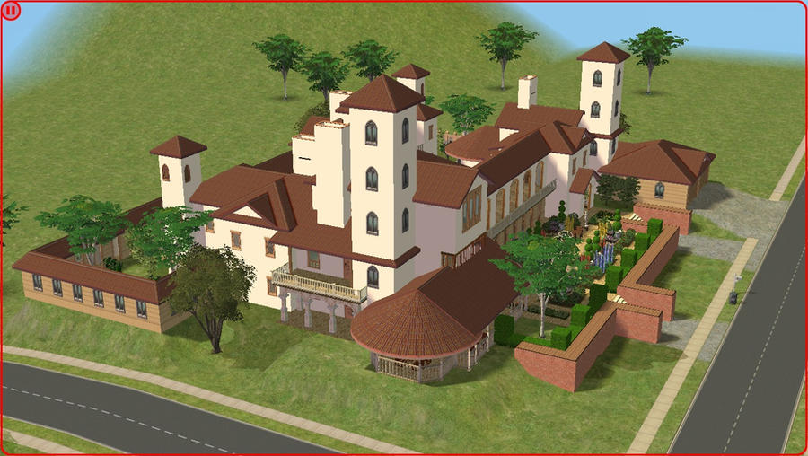 Sims2 My Dream Residence 542702537 on Sims 3 Mansion Floor Plans