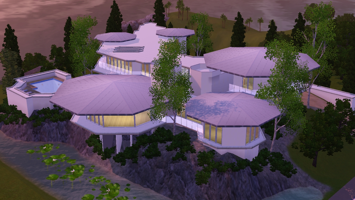 Sims 3 Tony Stark 39 S House V2 By Ramborocky On Deviantart