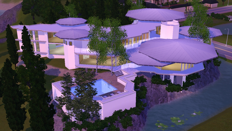 Sims 3 Tony Stark 39 S House V2 By Ramborocky On Deviantart