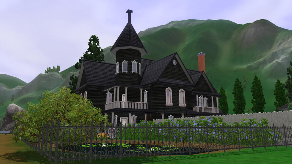 sims 3 haunted victorian houseramborocky on deviantart