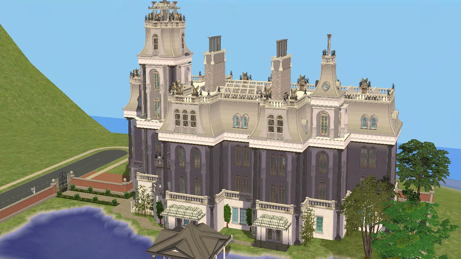 Sims 2 Lakeside Victorian Castle by RamboRocky on DeviantArt
