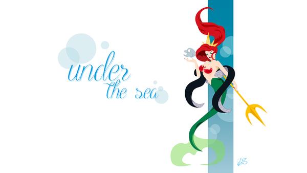 [Disney] Ariel WP by lsyw