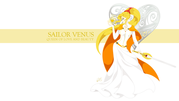Sailor Venus WP by lsyw