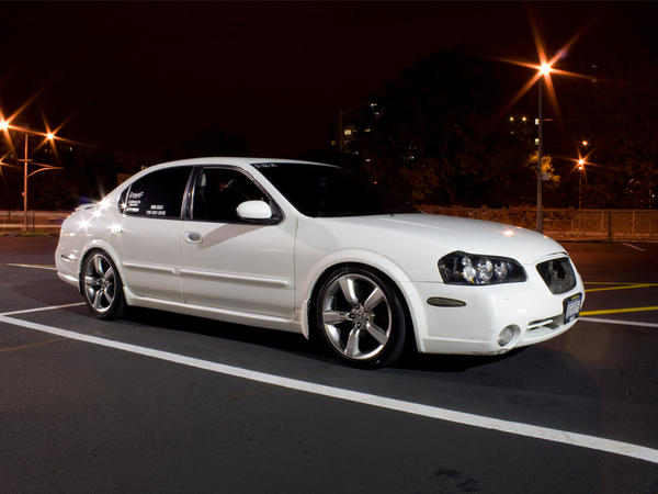White 5th Gen Nissan Maxima by Ruthless-Host on DeviantArt