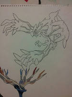 Yveltal preview by Crotchmonsoon