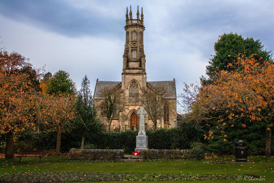 Rhu Church by KBL3S