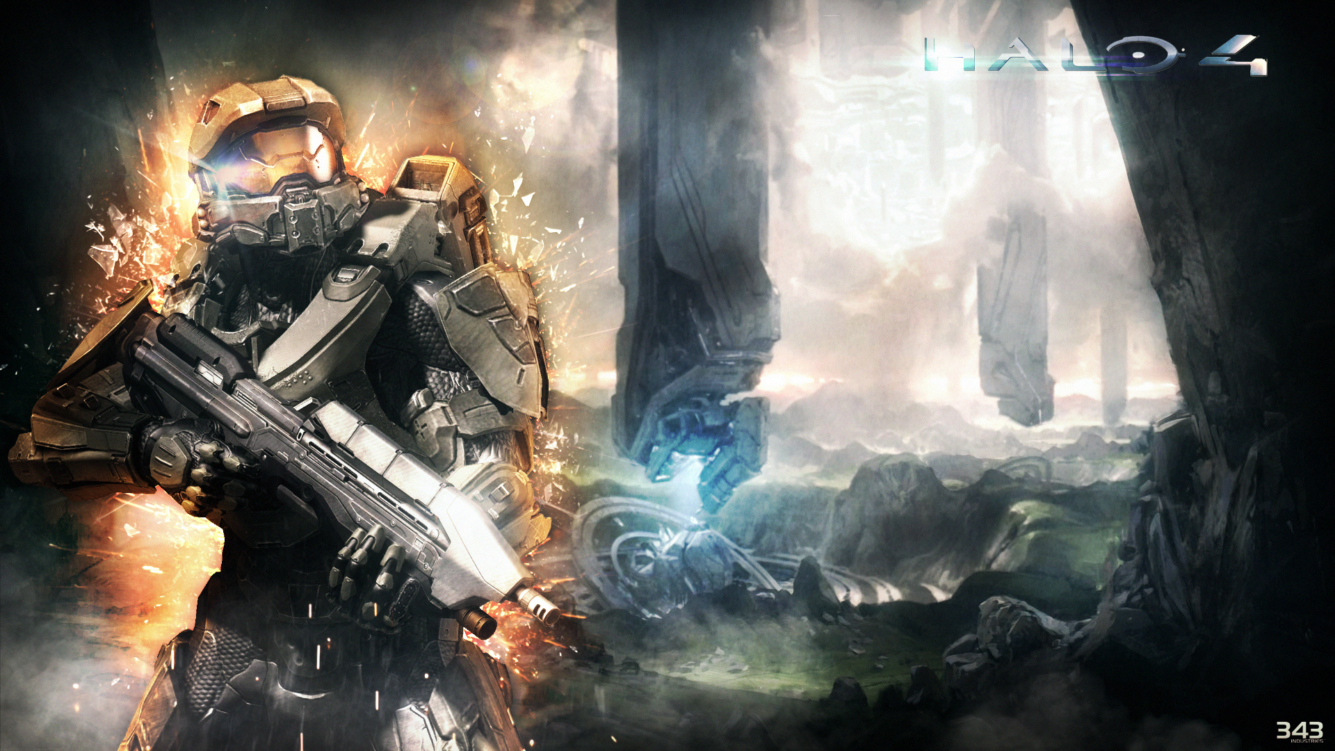 Wallpaper ~ Halo 4 by Mackaged