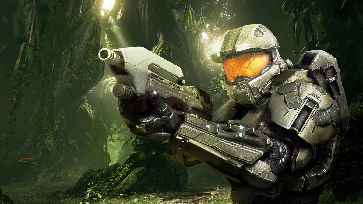 Wallpaper Test ~ Halo 4. by Mackaged