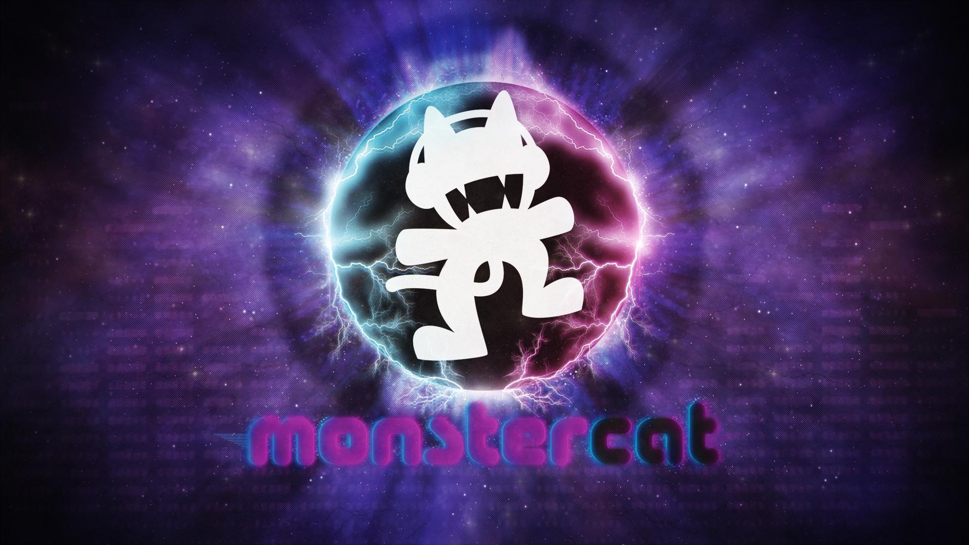 Wallpaper ~ MonsterCat. by Mackaged