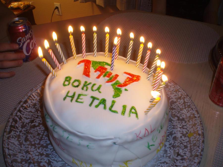 hetalia birthday cake 2 by APHetaliaGIFS