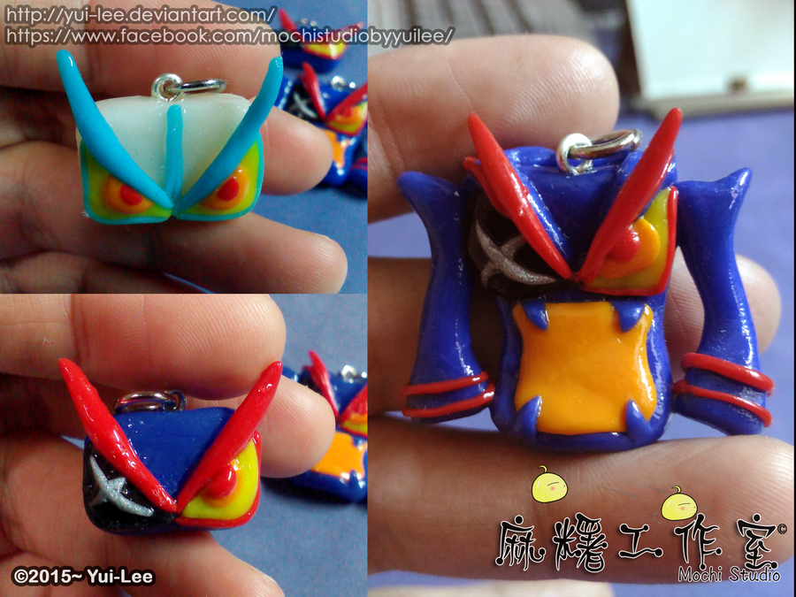 Fimo craft: Kill la Kill - Senketsu by Yui-Lee