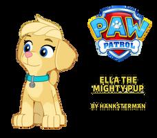 PAW Patrol - Ella The Mighty Pup (2D Artwork)