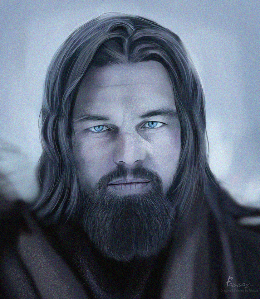 leonardo dicaprio the revenant by fawwaz1 on deviantart