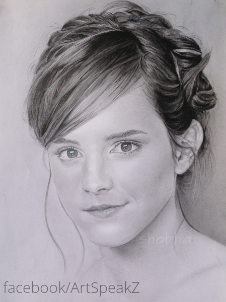 Emma Watson Study: Final Step by shosansharma