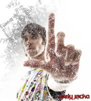 Ian Brown Poster by AndyJacko