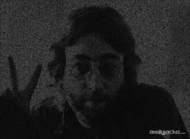 John Lennon ASCII Art by AndyJacko