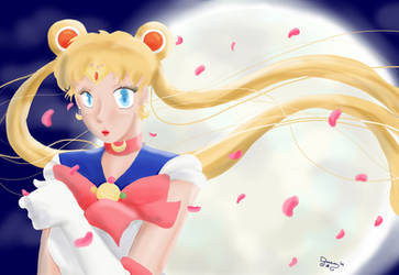 Sailor Moon by Dream-shuiryu