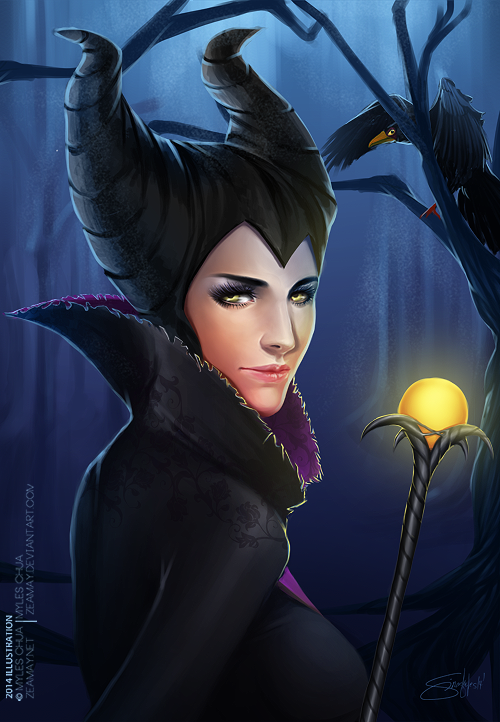 Maleficent by Zeamay
