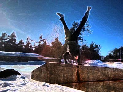 Handstand by Siim538