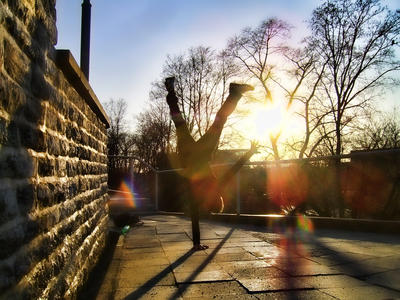 One handstand by Siim538