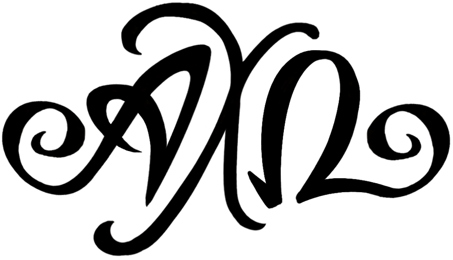 alpha chi omega script font monogram by piscura