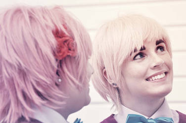 2P Hetalia: Distance by Time-Pirate