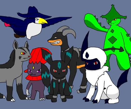 Dark Pokemon Unite