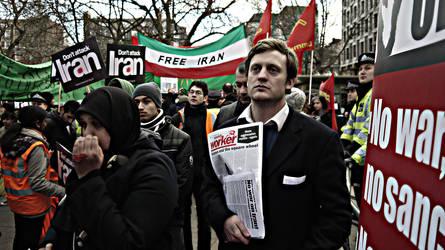 Socialist Worker Man by slysnakesamhardy