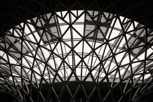 King's Cross in Black and White by slysnakesamhardy