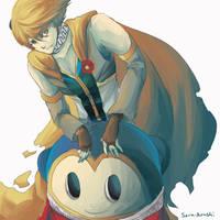 Persona Magica: Teddie by Sora-Arashi