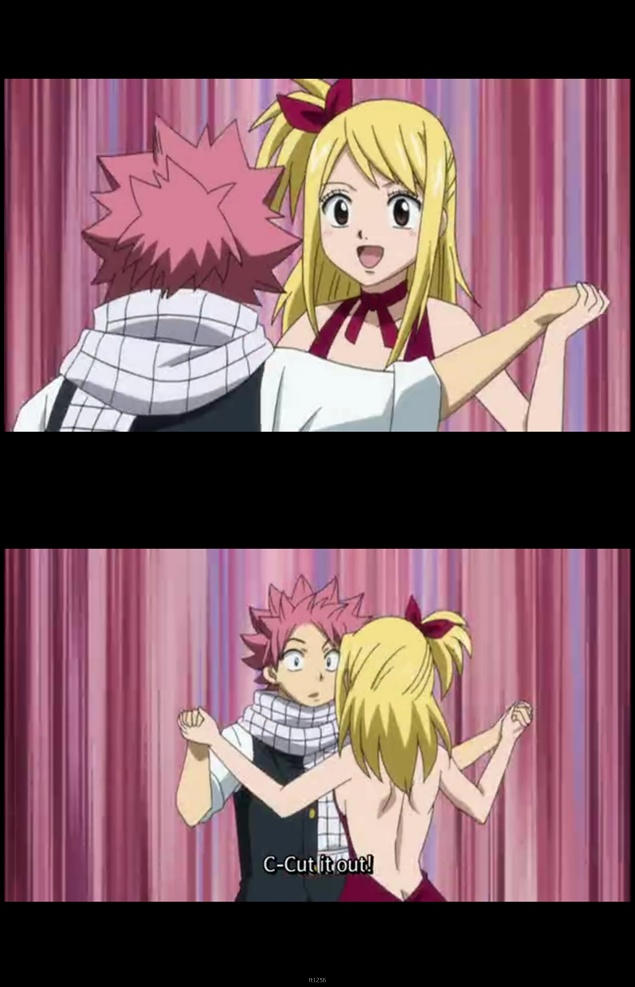 Fairy Tail 125 Cute NALU Moment by MelikeCan on DeviantArt